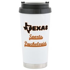 Texas Sports Psychologi Travel Coffee Mug