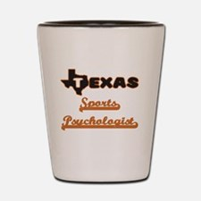 Texas Sports Psychologist Shot Glass