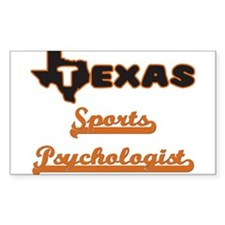 Texas Sports Psychologist Decal