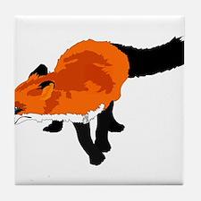 Sly Fox Tile Coaster