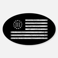 III Percenters Oath Keepers Decal