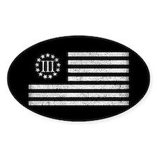 III Percenters Oath Keepers Stickers