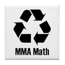 MMA Math Tile Coaster