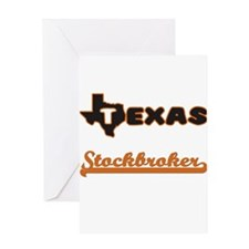 Texas Stockbroker Greeting Cards