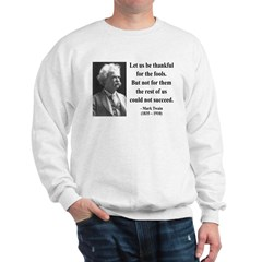 Mark Twain 17 Sweatshirt