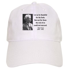 Mark Twain 17 Baseball Cap