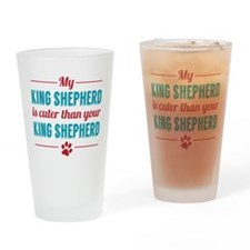 Cuter King Shepard Drinking Glass