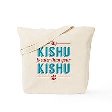 Cuter Kishu Tote Bag