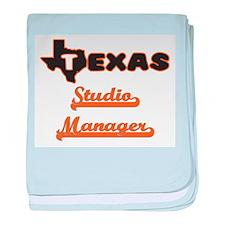 Texas Studio Manager baby blanket