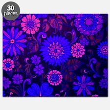 Purple Daisy Print Puzzle