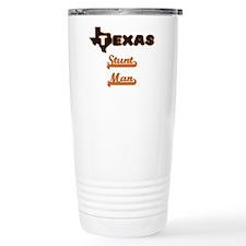 Texas Stunt Man Travel Coffee Mug