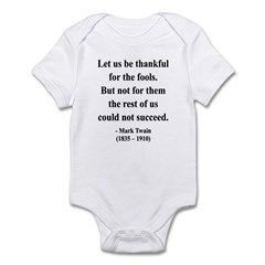 Mark Twain 17 Infant Bodysuit