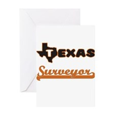 Texas Surveyor Greeting Cards