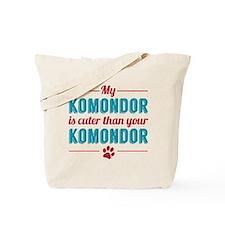 Cuter Komondor Tote Bag