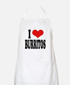 I Love Burritos BBQ Apron