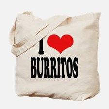 I Love Burritos Tote Bag