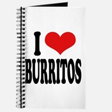 I Love Burritos Journal