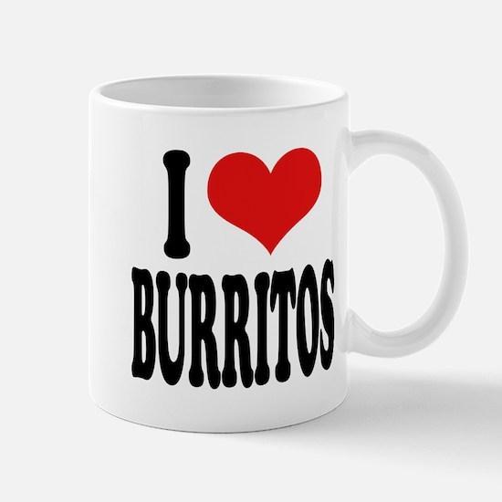 I Love Burritos Mug