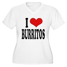 I Love Burritos T-Shirt