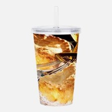 Apple Pie Dessert Acrylic Double-wall Tumbler