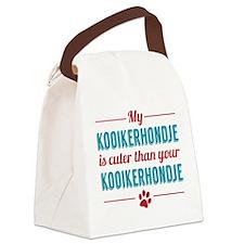My Kooikerhondje Canvas Lunch Bag