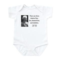 Mark Twain 18 Infant Bodysuit