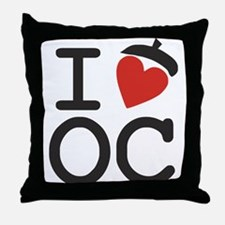 I Heart Oak Cliff Throw Pillow