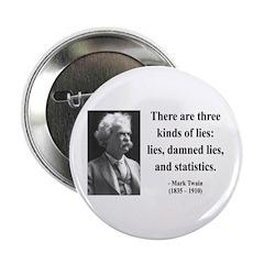 """Mark Twain 18 2.25"""" Button"""