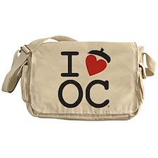 I Heart Oak Cliff Messenger Bag