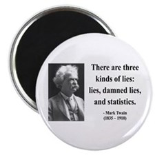 "Mark Twain 18 2.25"" Magnet (100 pack)"