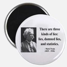 Mark Twain 18 Magnet