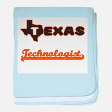 Texas Technologist baby blanket