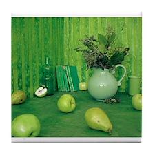 Green Study Tile Coaster