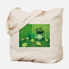 Green Study Tote Bag