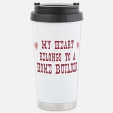 Cute My heart belongs saxophone player Travel Mug