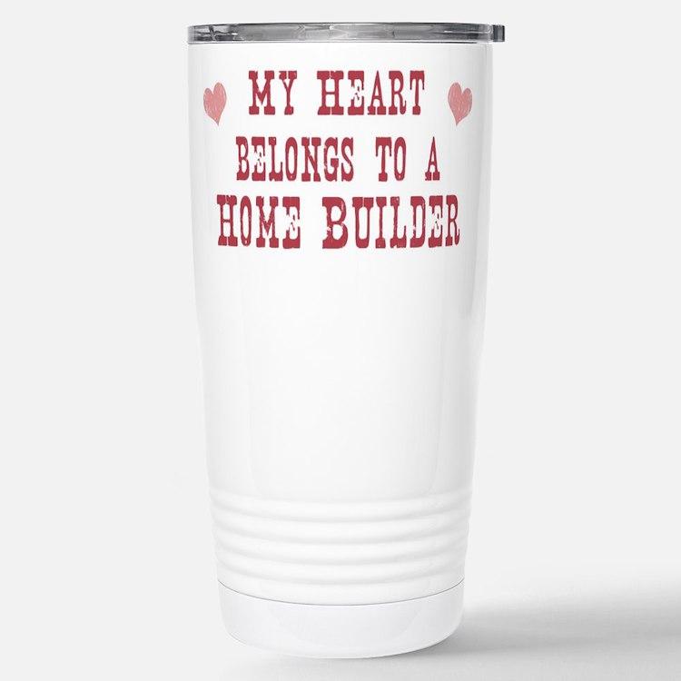 Cute Buildering Travel Mug