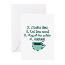 Tea Lover Humor Greeting Cards