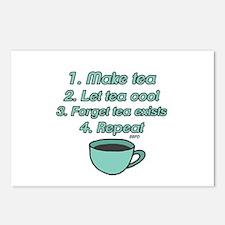 Tea Lover Humor Postcards (Package of 8)