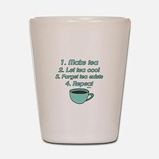 Tea Lover Humor Shot Glass