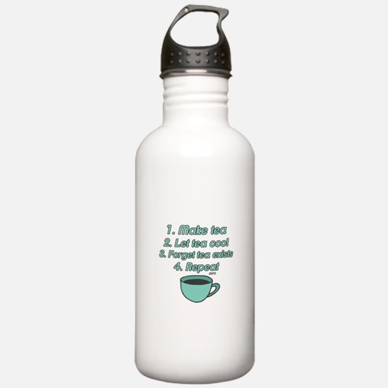 Tea Lover Humor Water Bottle