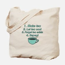 Tea Lover Humor Tote Bag