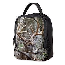Hideaway Buck Neoprene Lunch Bag