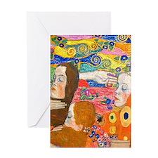 Gustav Klimt, Hope ii Greeting Cards