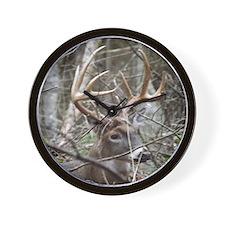 Hideaway Buck Wall Clock