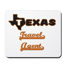 Texas Travel Agent Mousepad