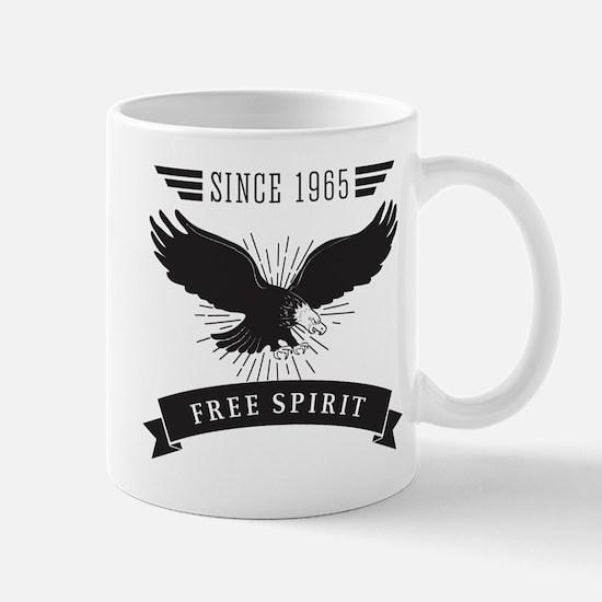Birthday Born 1965 Free Spirit Mug