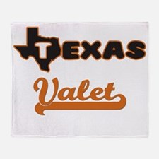 Texas Valet Throw Blanket