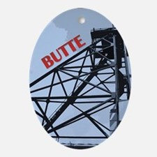 Butte 1 Oval Ornament