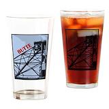 Butte montana Drinking Glass