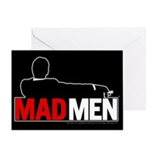 Mad Men Truth Lies Card Greeting Cards